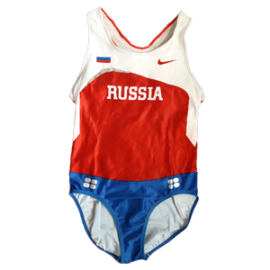 Nike Russia athletic leotard