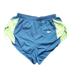 Nike split running shorts